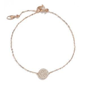 Nadri Geo Pave Bracelet (Rose Gold)